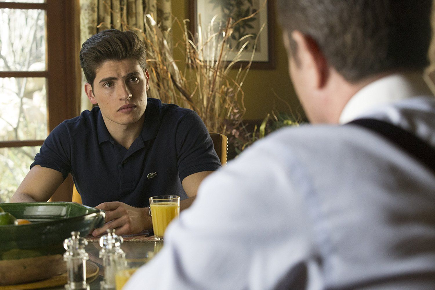 Gregg Sulkin as Chase Stein in Marvel's Runaways