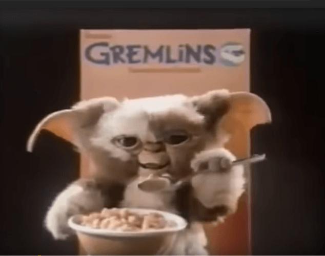 Gremlins cereal