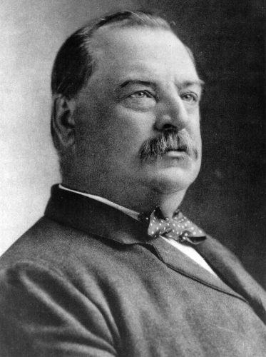 Grover Cleveland in a photograph.