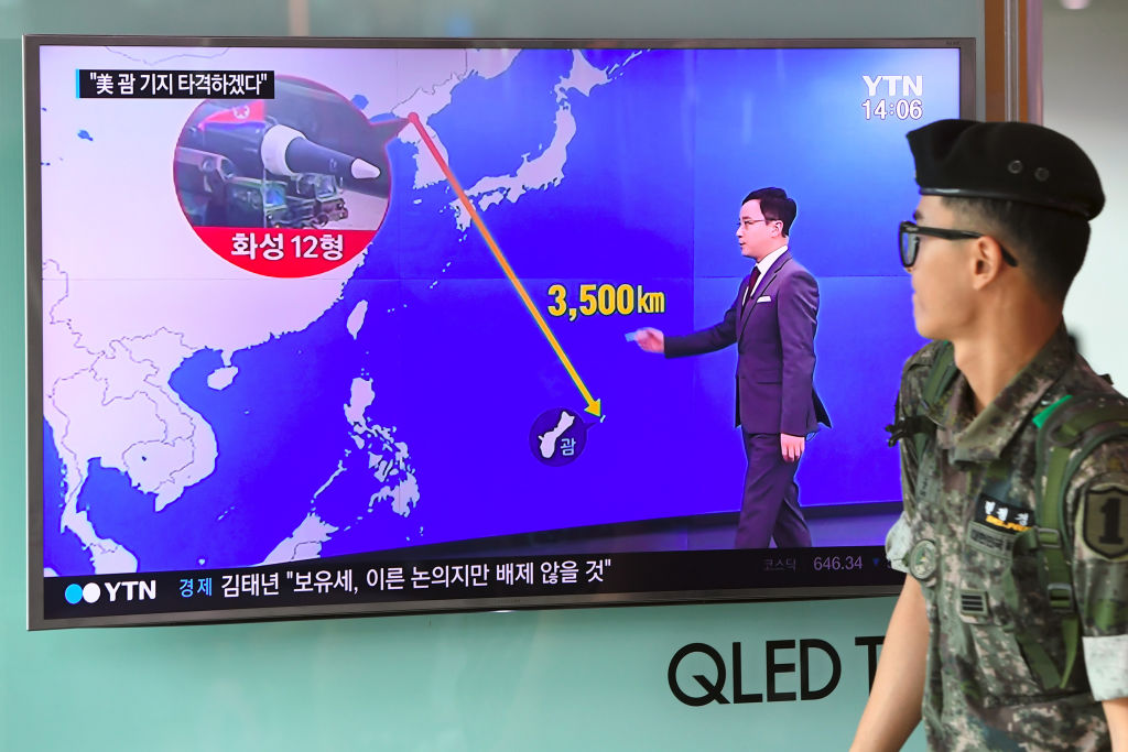 North Korea targets Guam
