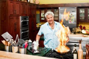 An Inside Look at Guy Fieri's House (His Kitchen Is What You'd Expect)