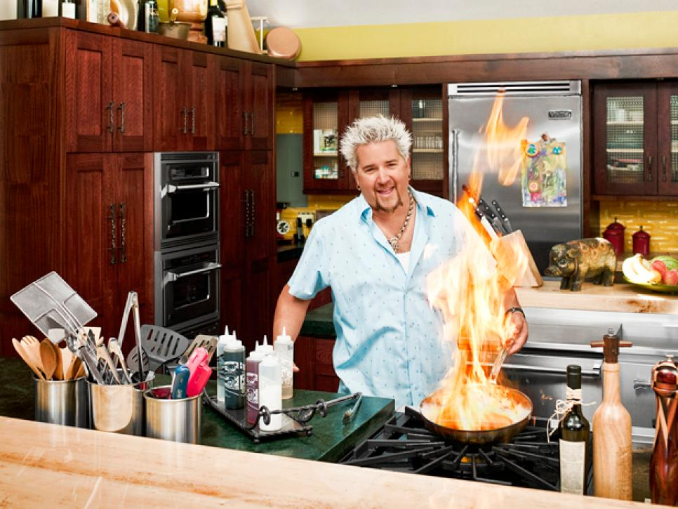 guy fieri kitchen