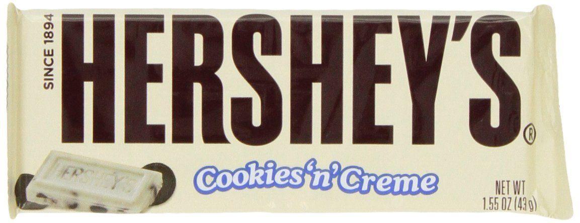 Hershey's Cookies N Cream bar