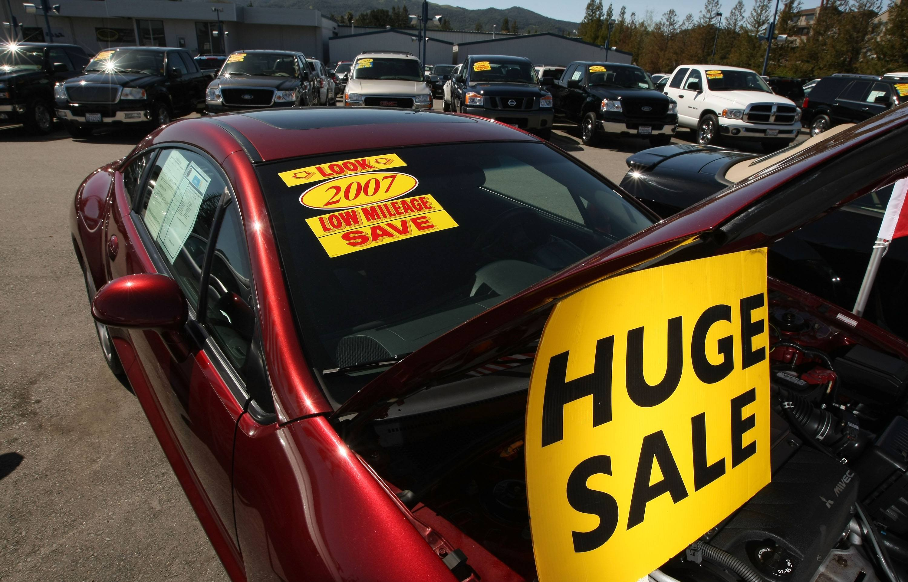 Used Car Sales Lot
