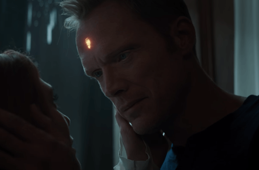Vision in human form during the Avengers: Infinity War trailer