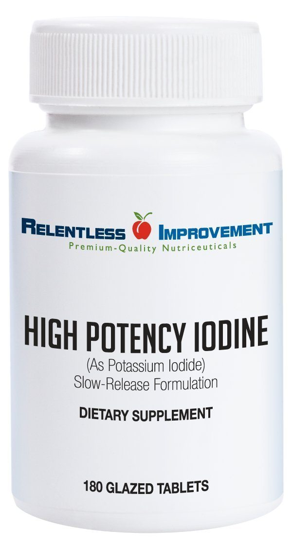 Relentless Improvement Iodine Potassium Iodide Tablets