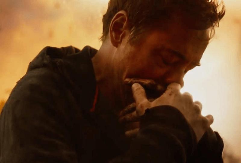 Iron Man Tony Stark in Avengers Infinity War