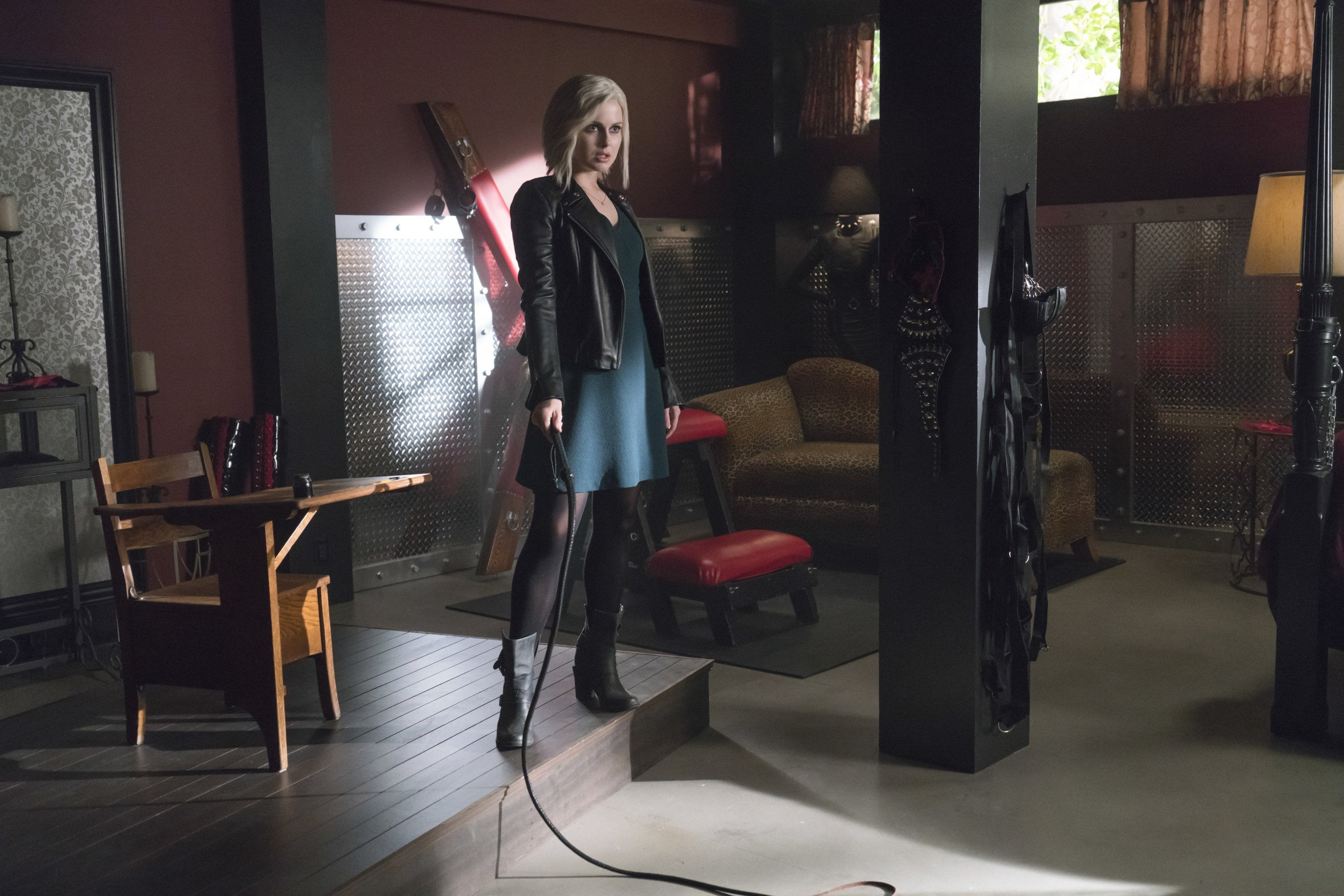 Liv as a dominatrix on iZombie