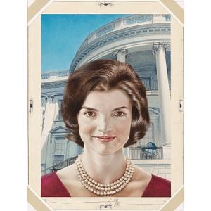 jacqueline Kennedy portrait