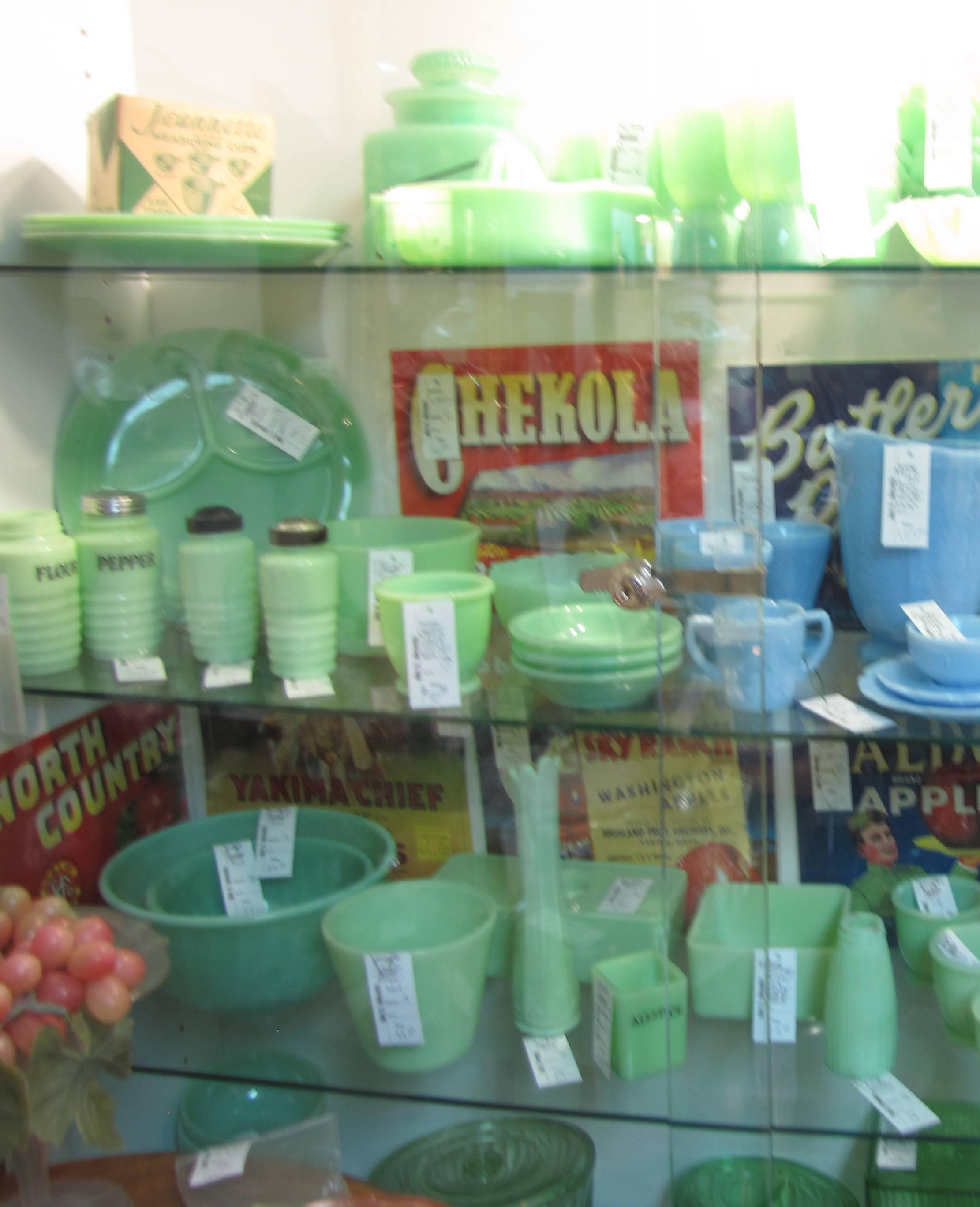 Vintage jadeite bowls