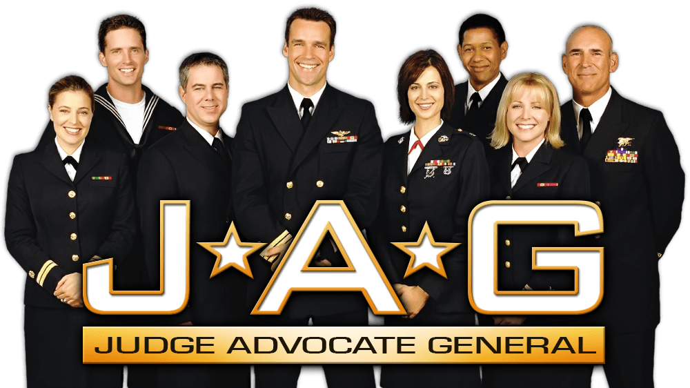 Promotional image for CBS series JAG