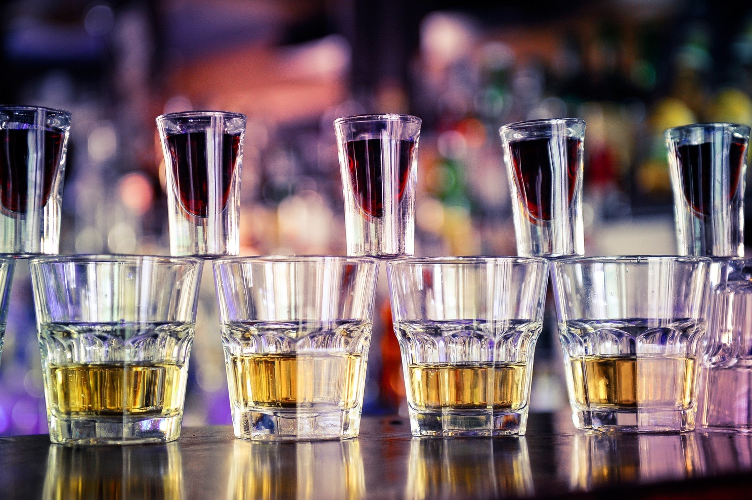 Jagerbomb drink