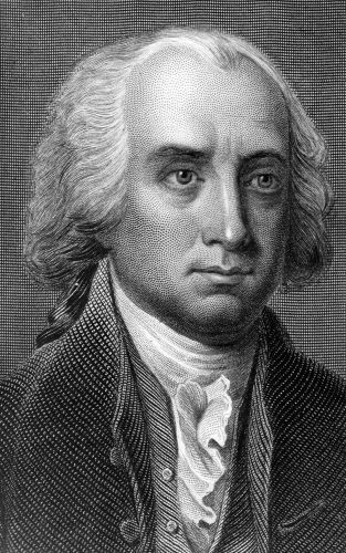 An illustration of James Madison.