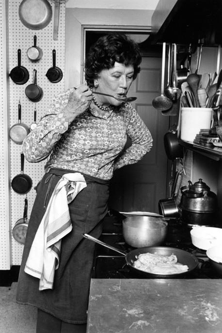 Julia Child Tasting Soup