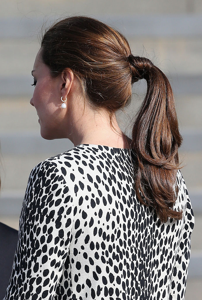 Kate Middleton Ponytail
