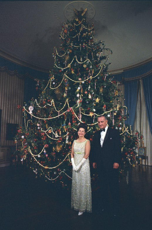 lady bird johnson christmas tree