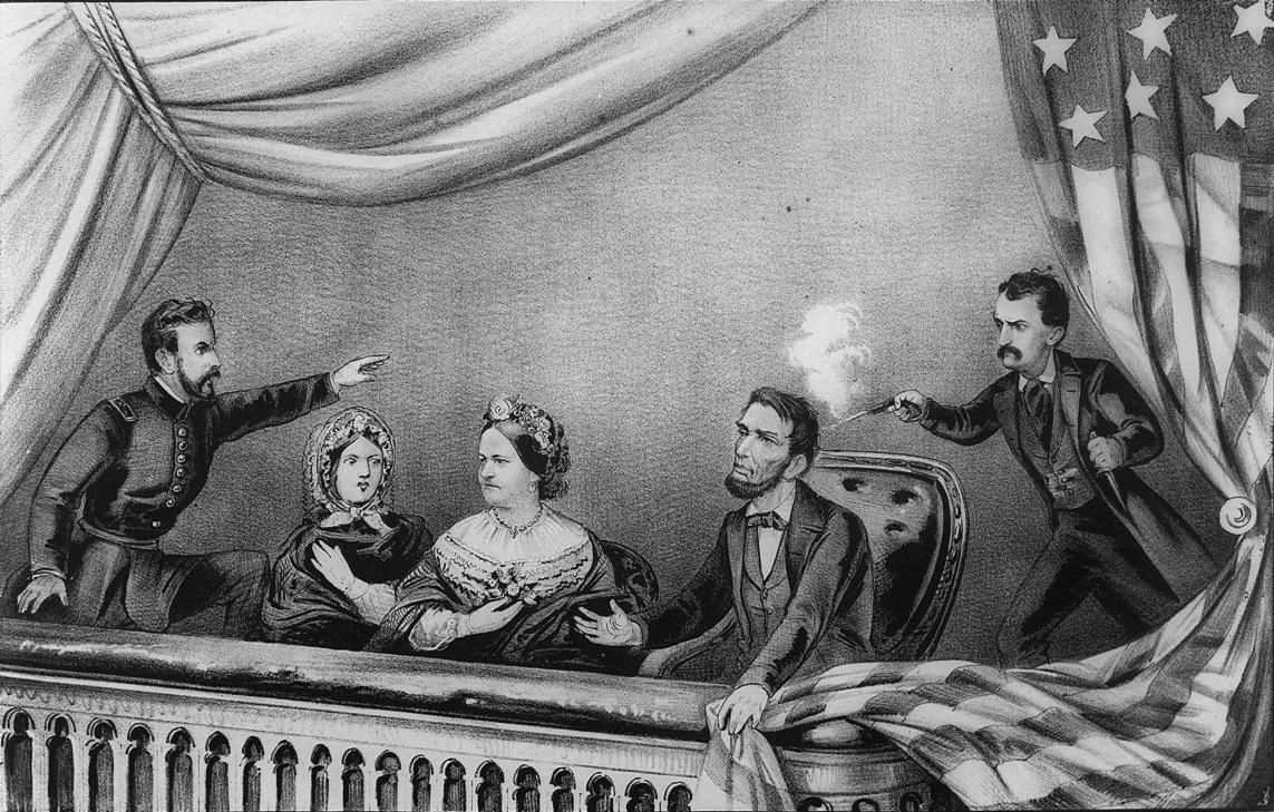 Lincoln Assassination Illustration