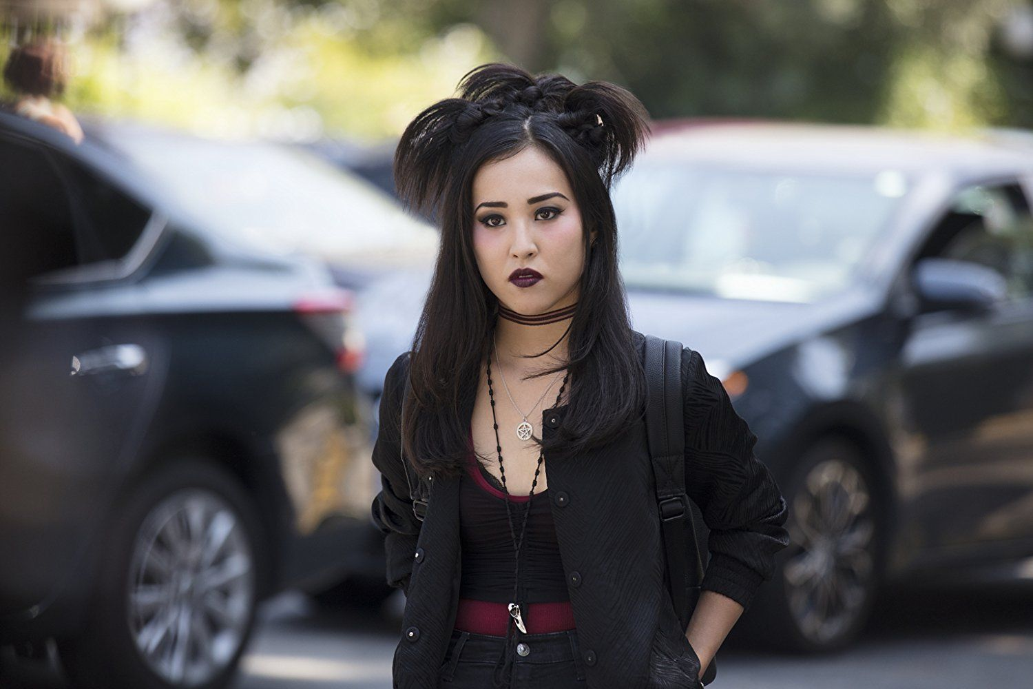 Lyrica Okano as Nico Minoru in Marvel's Runaways