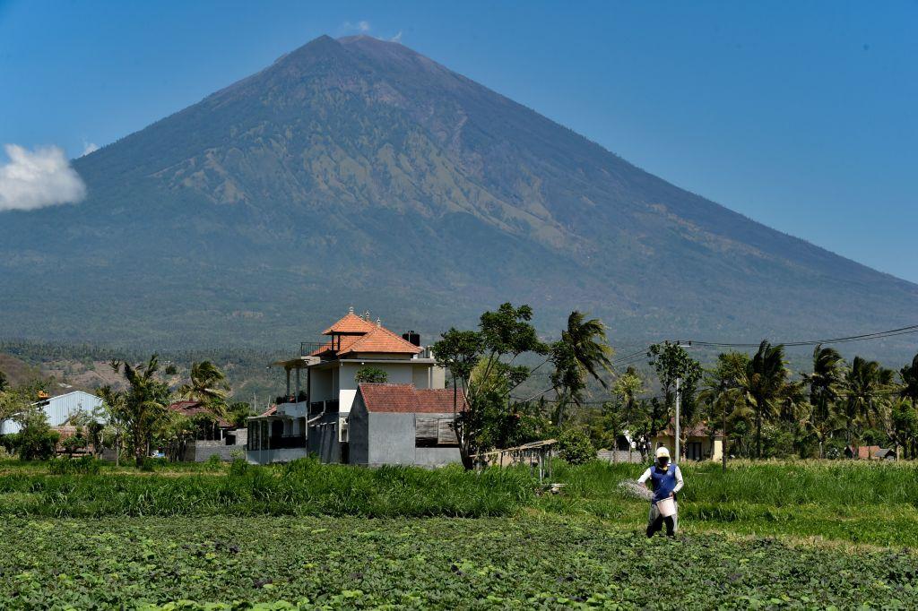 Mount Agung Volvano in Bali