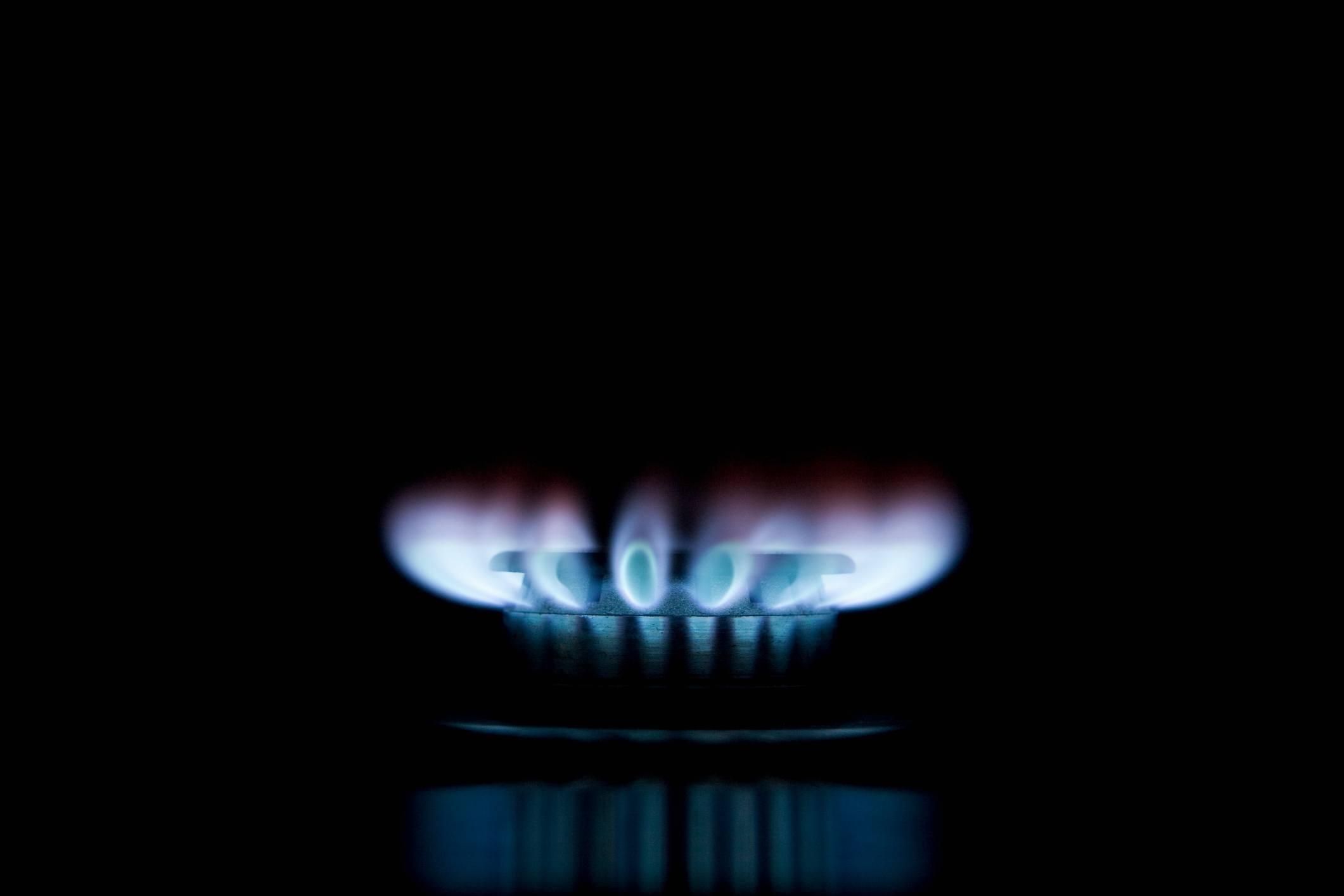 Natural gas burner