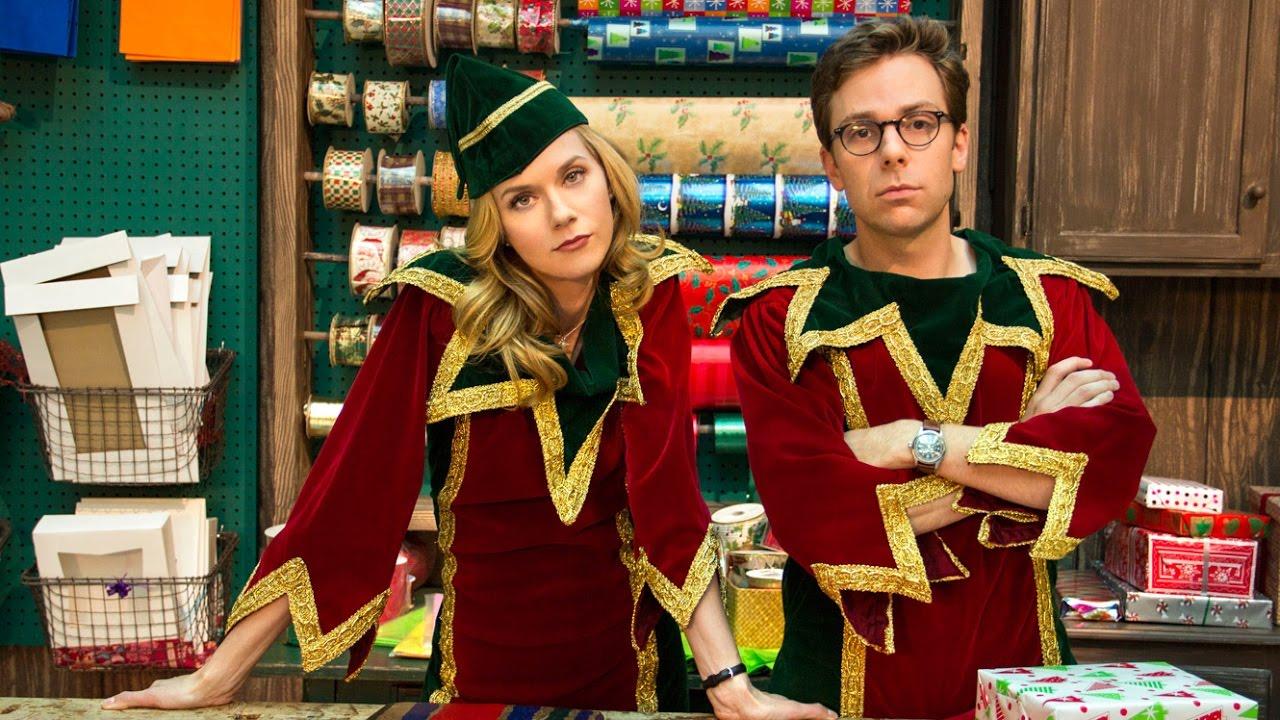 Hilarie Burton and Gabriel Tigerman in Naughty or Nice