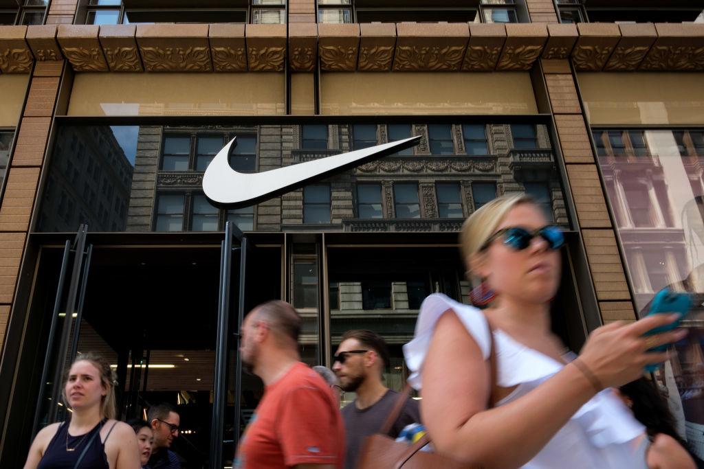 Nike shoppers