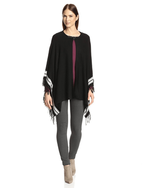 NORTH ELEVEN Women's Fringe Poncho