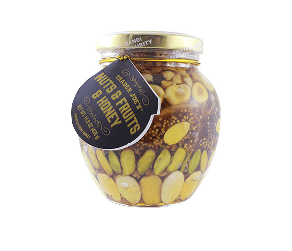 Nuts Fruit and Honey jar