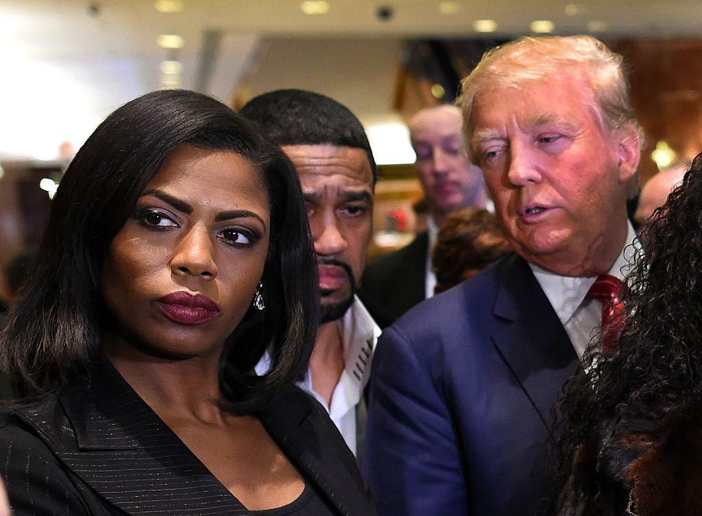 Omarosa Manigault and President Trump