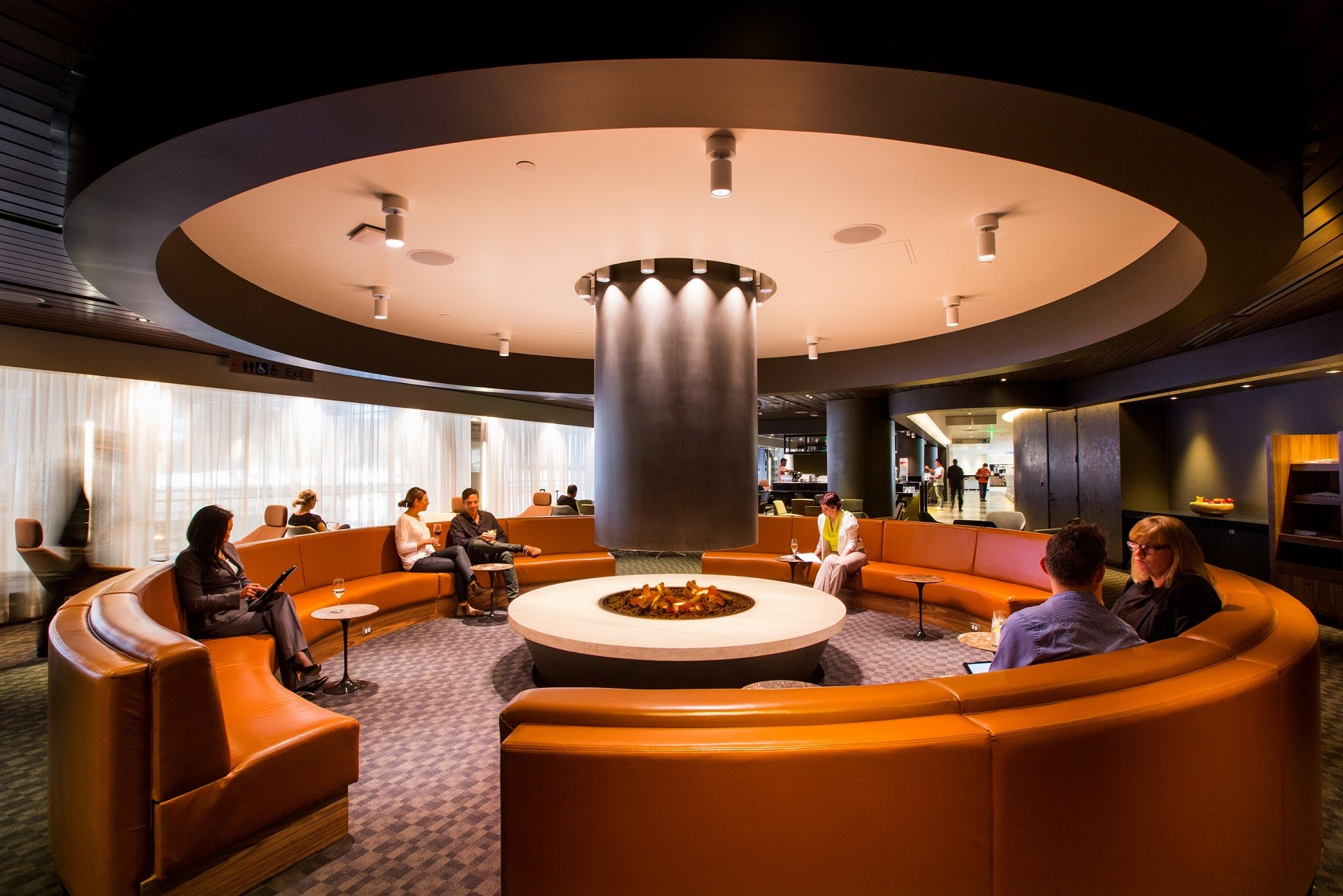 One World Lounge LAX