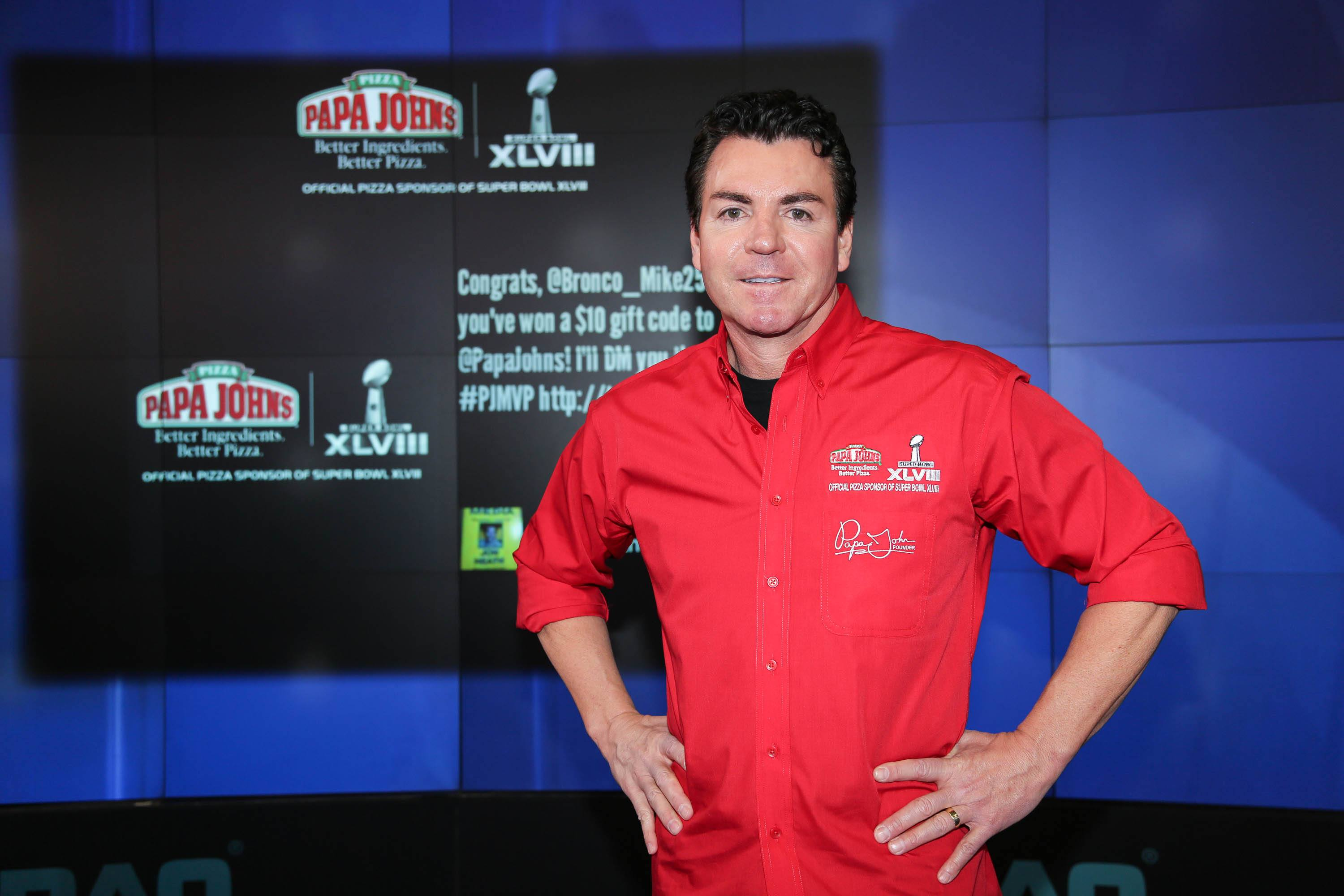 John H. Schnatter, Founder, Chairman & CEO of Papa John's Pizza