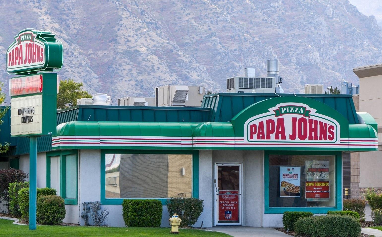 Papa John's Restaurant Exterior
