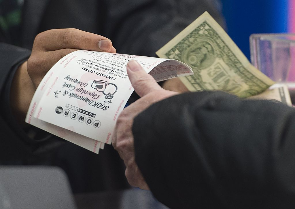 Powerball lottery tickets