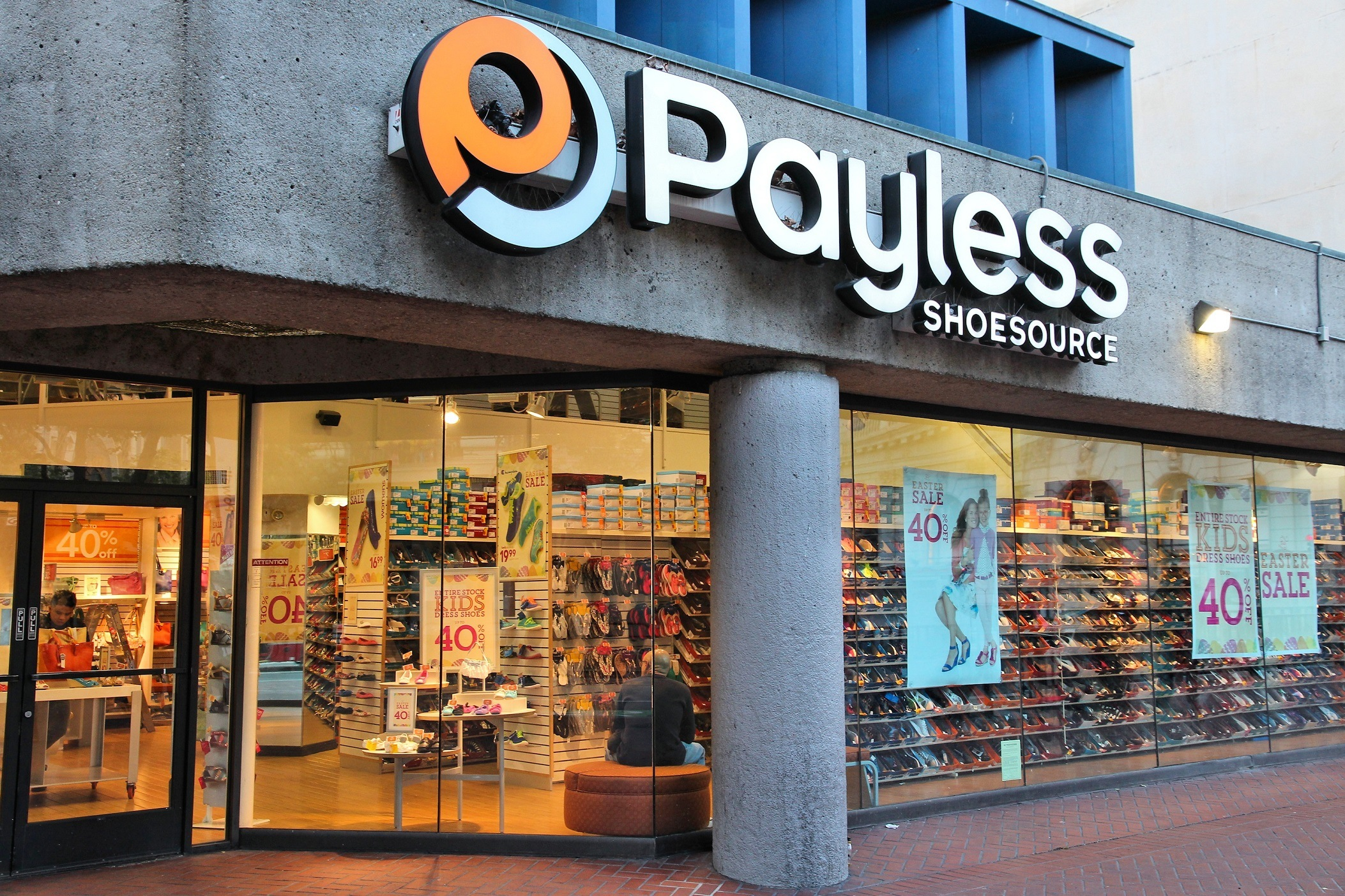 Payless shoe store