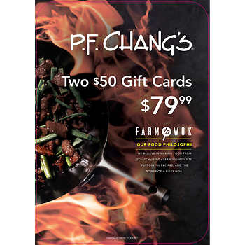 PF Chang's Gift Cards