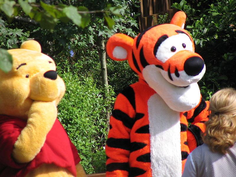 Pooh and Tigger