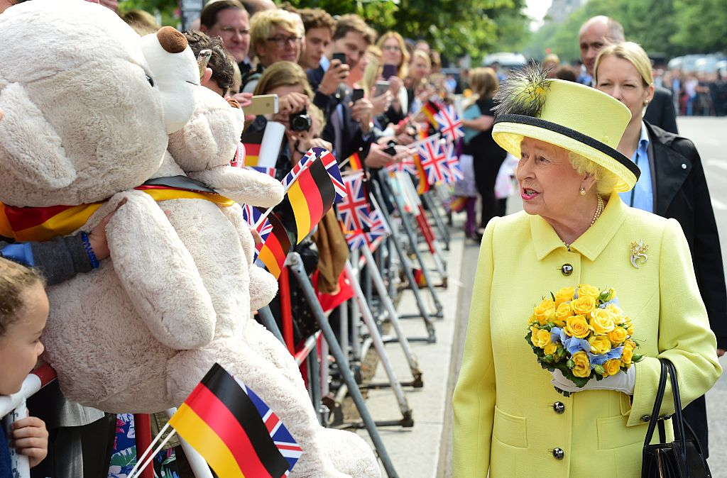 Queen Elizabeth in Germany