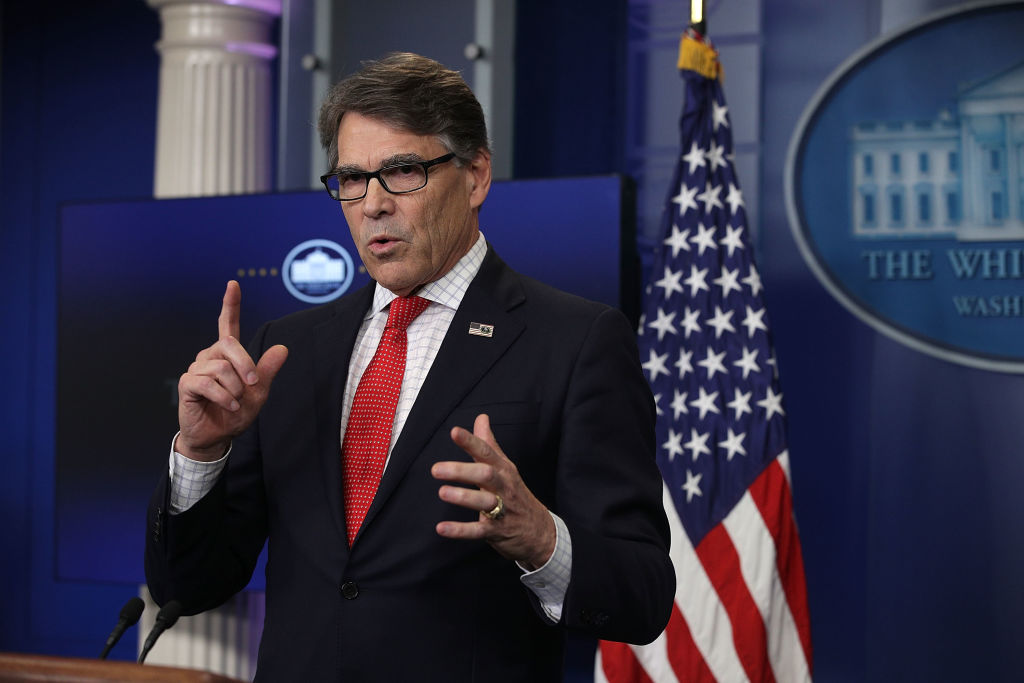 Rick Perry Energy Secretary