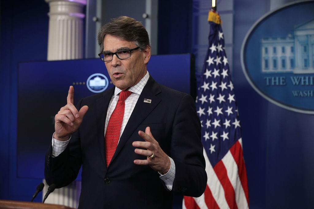 Rick Perry Energy Secretary