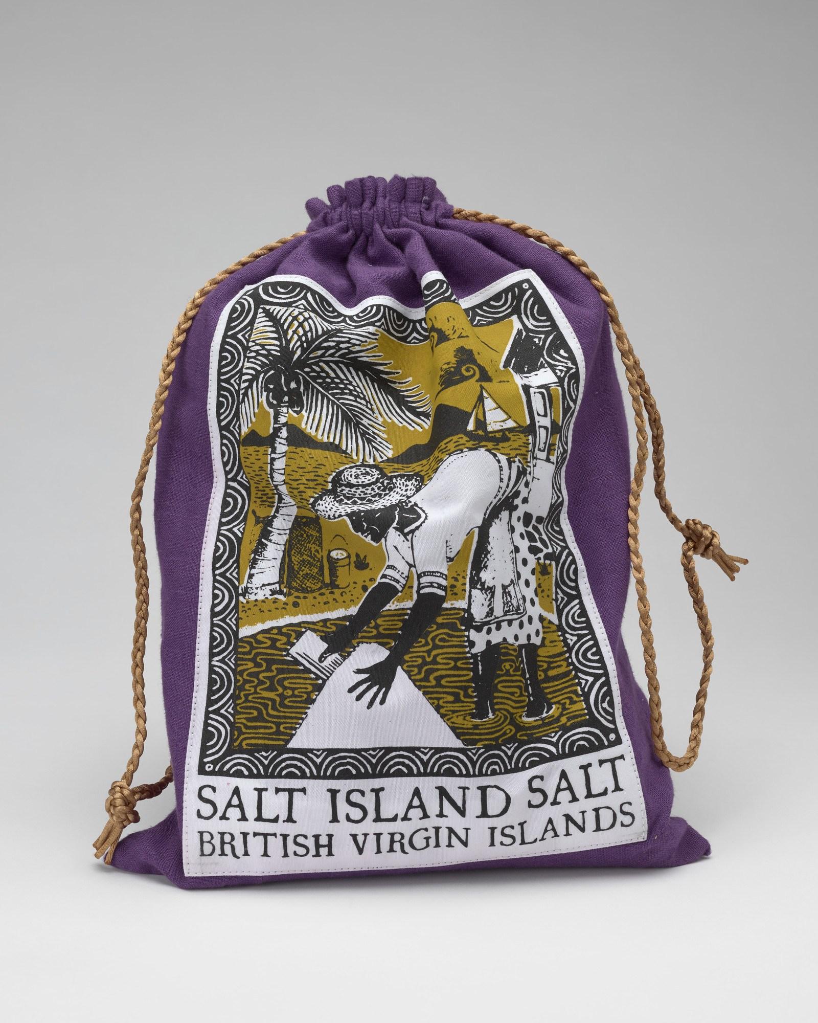 Salt island bag of salt