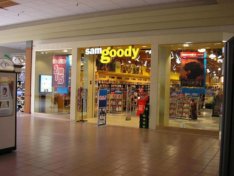 sam goody store
