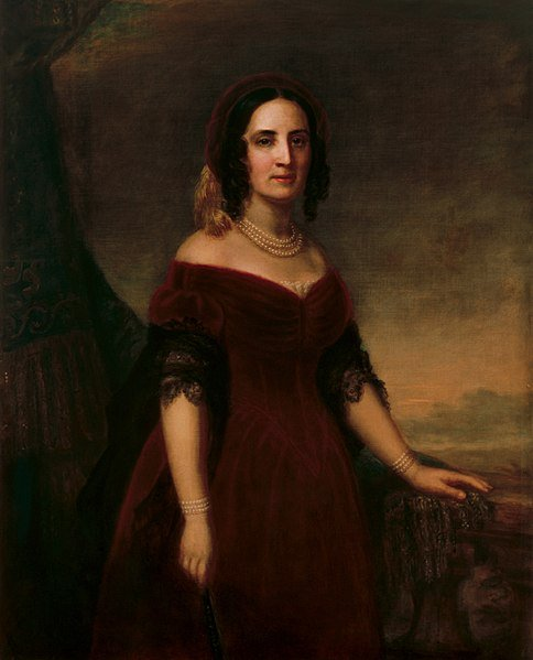 portrait of sarah polk