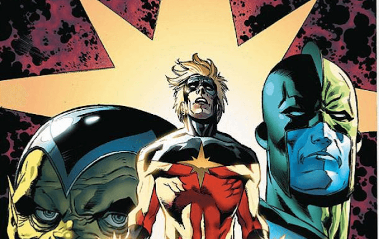 The cover of a Captain Marvel: Secret Invasion issue