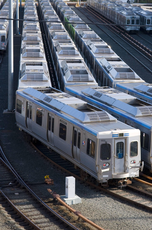 trains in Philadelphia