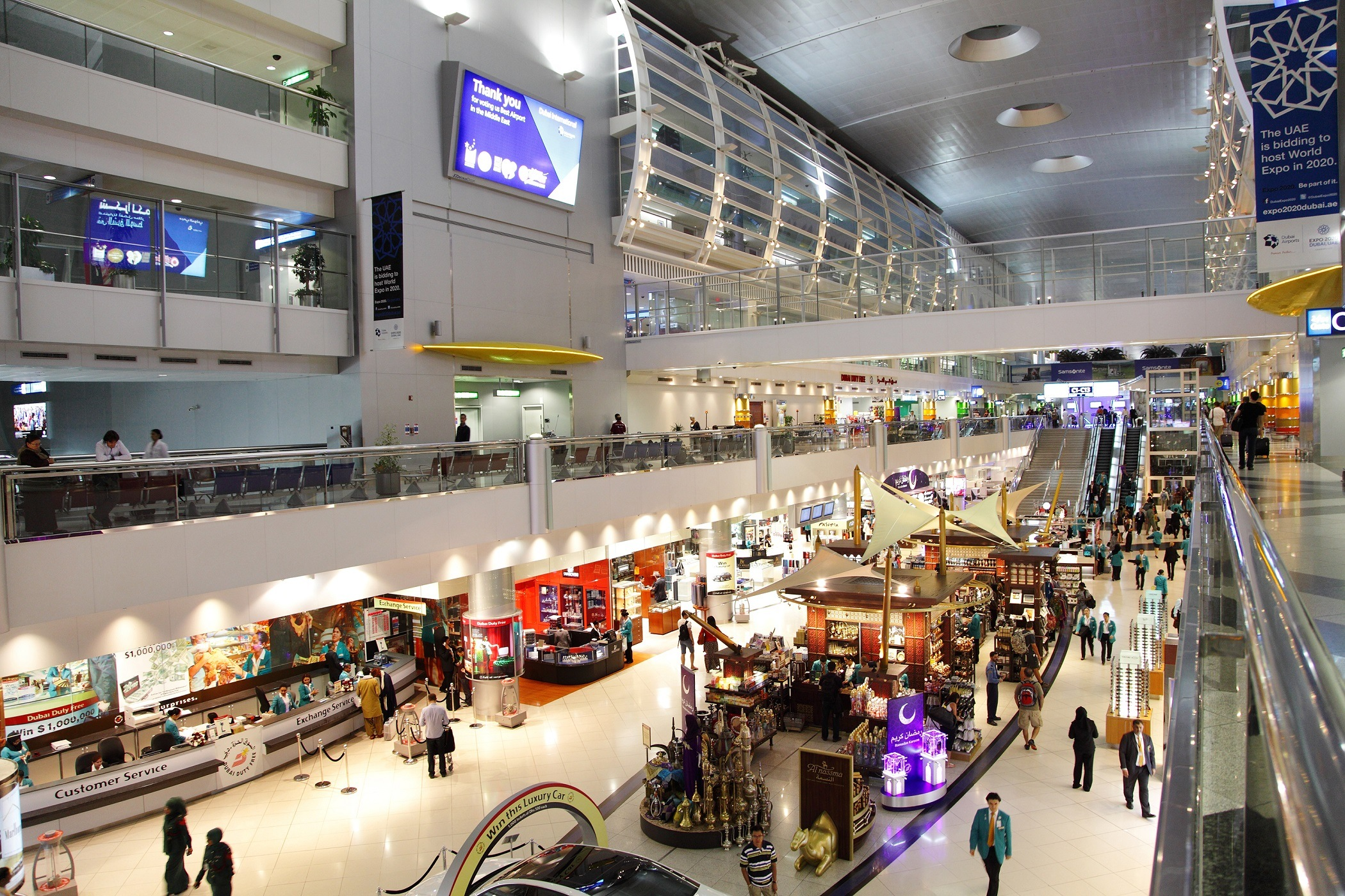 Dubai International Airport, UAE