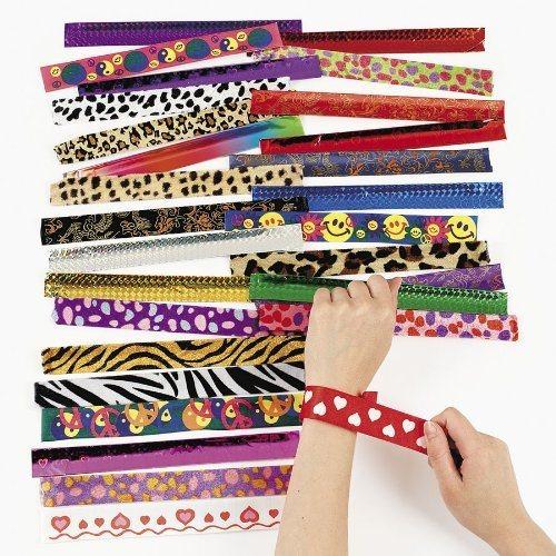 Slap bracelets