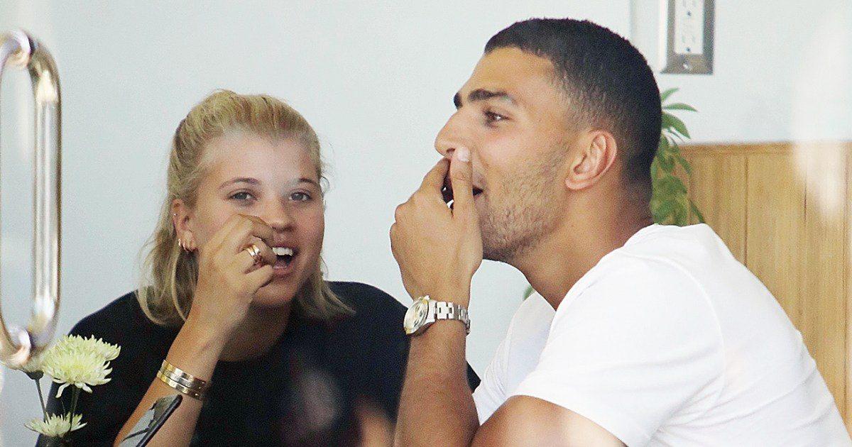 Sofia Richie and Younes Bendjima