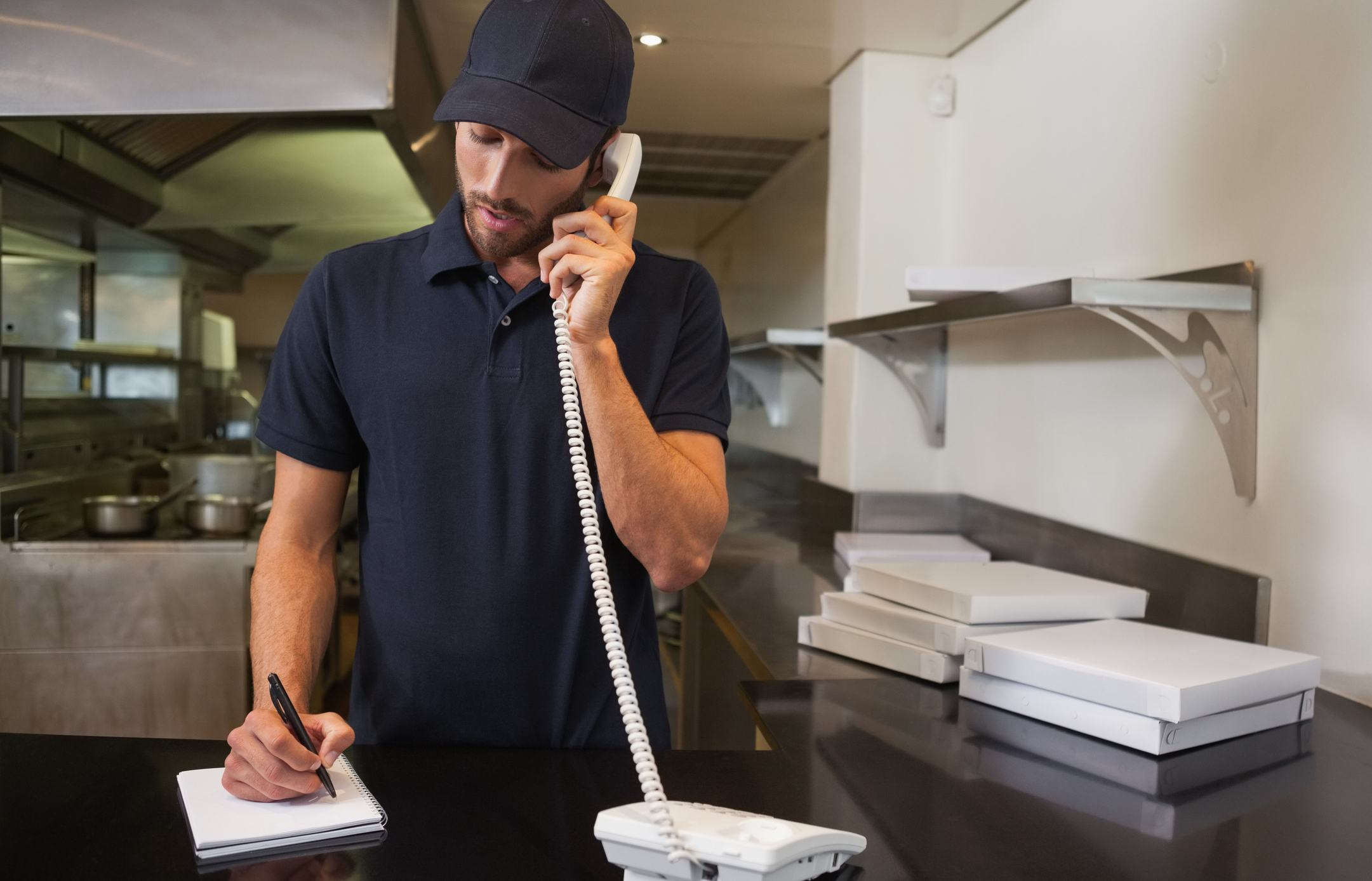 Pizza Delivery phone call