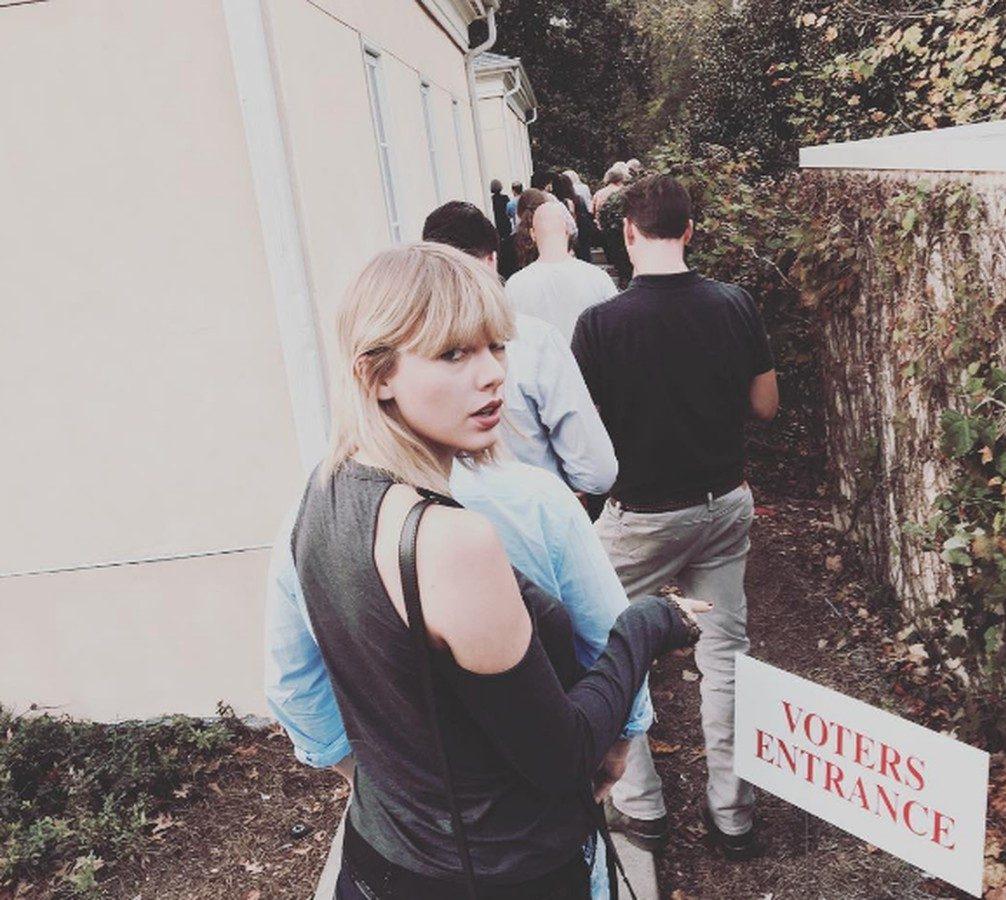 Taylor Swift voting