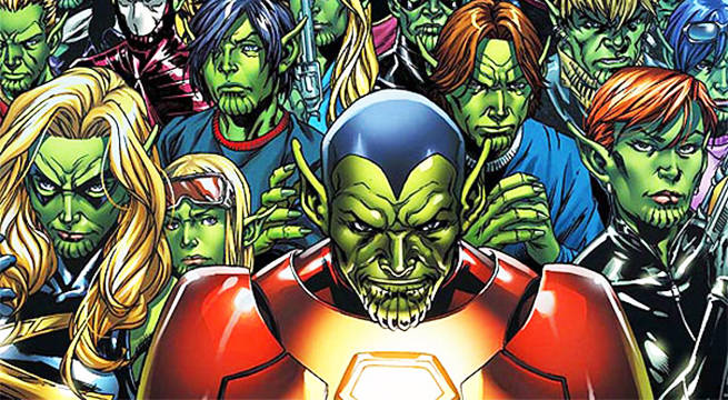 "The Skrulls in ""Secret Invasion"""